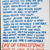 March because you hate the war: Day of Unacceptance