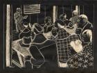 (Americanization class, Topaz Relocation Center, Utah)