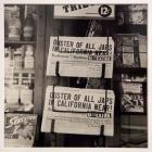 Untitled, (Oakland, Calif. Headlines of newspapers)