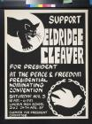 Support Eldridge Cleaver for President