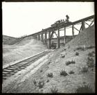 Trestle Across Great Z, with Engine