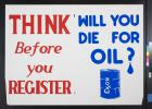 Will You Die for Oil?