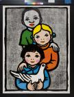 untitled (children and dove)
