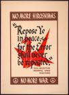 No More Hiroshimas: No More War