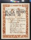 Black History Month '78