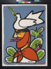 untitled (bird on a man's head)