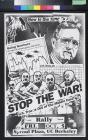 Now is time to act: Stop the war!