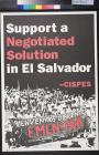 Support a Negotiated Solution in El Salvador