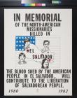 In Memorial of the North-American Missionaries Killed in El Salvador