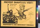 Protest Shah's U.S. Visit!