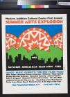 Western Addition Cultural Center First Annual Summer Arts Explosion