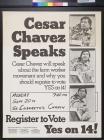 Cesar Chavez speaks
