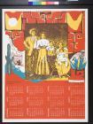 Untitled (La Raza Silkscreen calendar, 1978)
