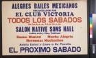 Alegres Bailes Mexicanos