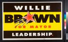 Brown for Mayor