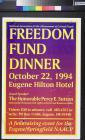Freedom Fund Dinner