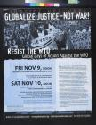 Globalize Justice - Not War!