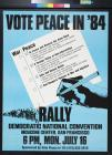 Vote Peace In '84