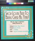 Shop Local First to Bring Cheer All Year