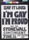 I'm Gay, I'm Proud