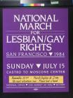 National March for Lesbian/Gay Rights