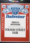 Budweiser: Proud Sponsor: Folsom Street Fair