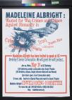 Madeline Albright: Wanted for War Crimes