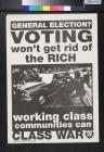 Voting Won't Gert Rid of the Rich