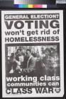 Voting Won't Get Rid of Homelessness