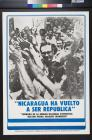 Nicaragua Ha Vuelto A Ser Republica