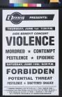 AIDS Benefit Concert Violence