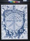 9th Annual Radical Performance Fest '03