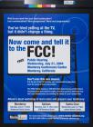 Now Come and Tell It to the FCC!