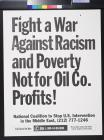 Fight a war against racism