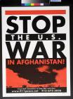 Stop the U.S. War in Afghanistan!