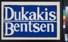 Dukakis Bentsen