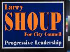 Larry Shoup For City Council