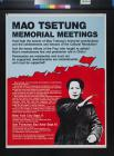 Mao Tsetung Memorial Meetings