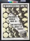 No business as usual: Prevent World War III - No Matter What It Takes!