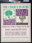 The Choice is Ours: Nuclear Free World of Nuclear Free for All?