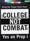 Bring the Troops Home Now! Yes on Prop i [Proposition I]