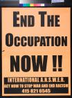 End the Occupation Now!!