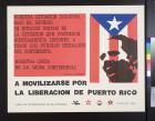 A movilizarse por la liberacion de Puerto Rico