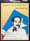 Commemorate the birth of Don Pedro Albizu Campos