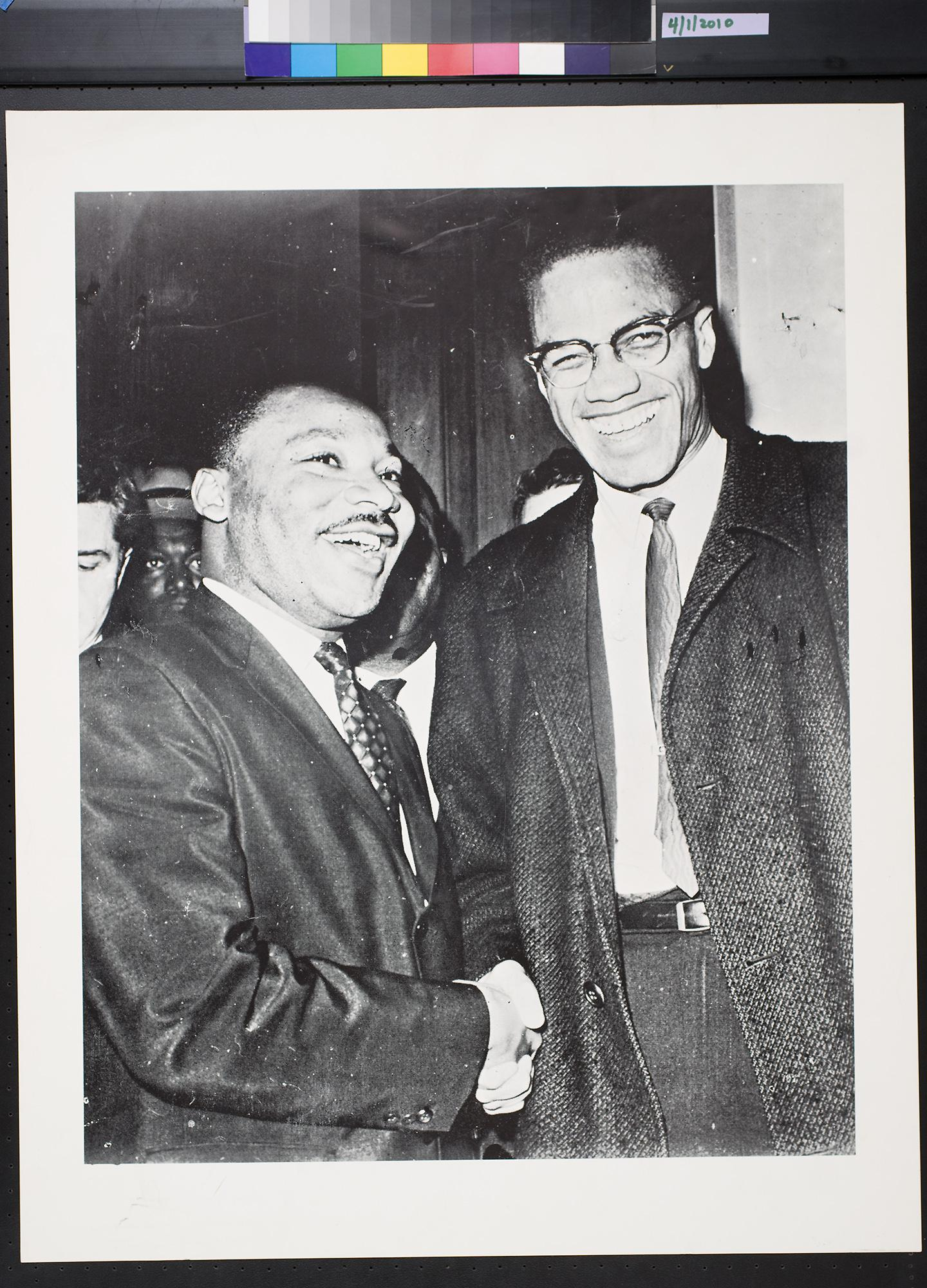 Back to Search Results. untitled (Martin Luther King, Jr. and Malcolm X ...