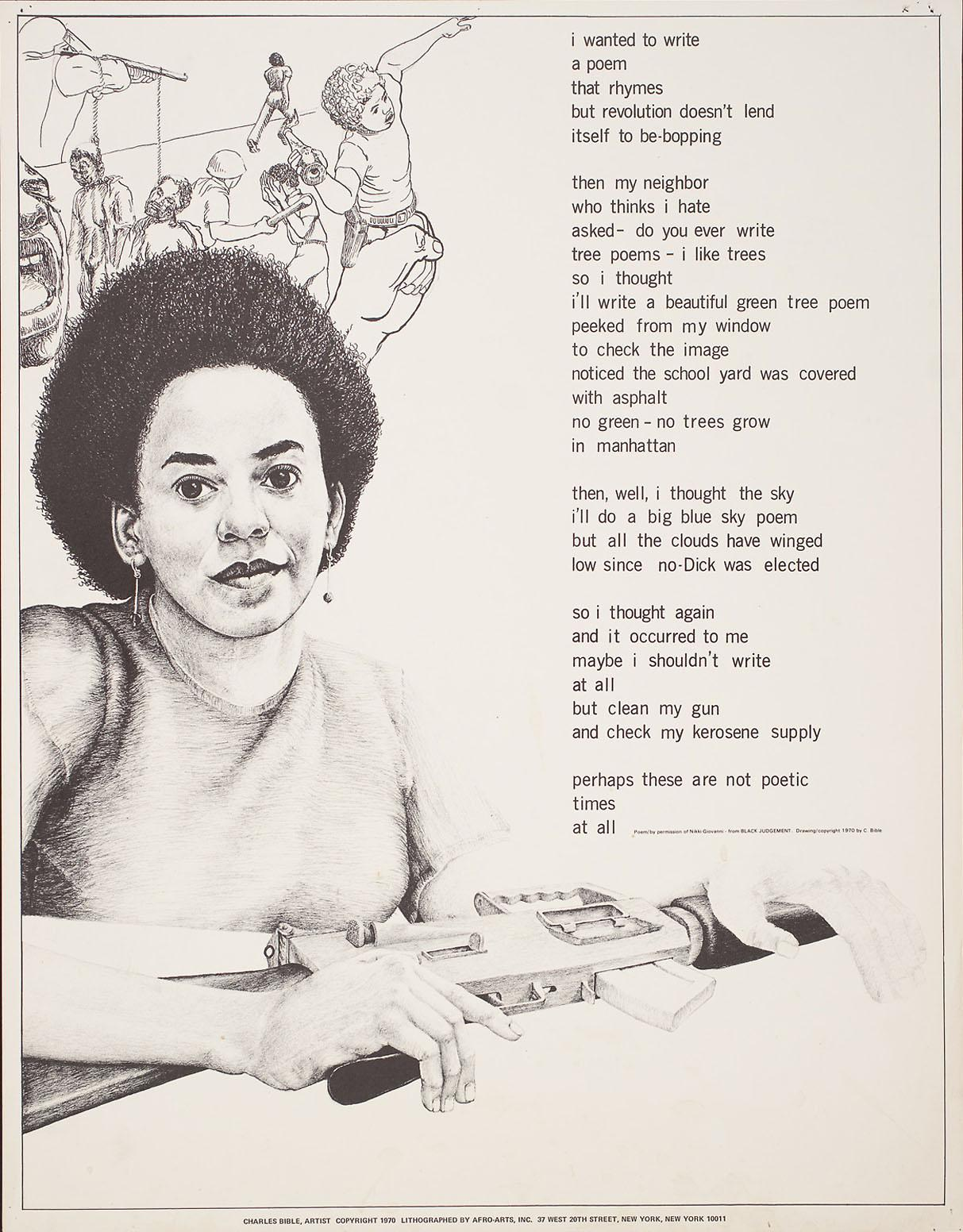 "woman by nikki giovanni essay Free essay: the poem ""woman"", written by nikki giovanni, uses several metaphors to describe the journey of a woman and what she feels the man should do but."