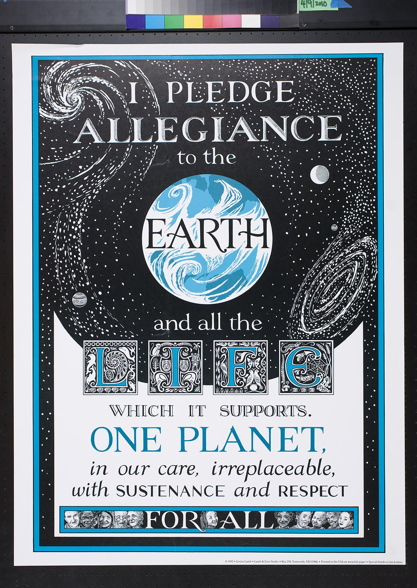 Image result for i pledge allegiance to the earth images