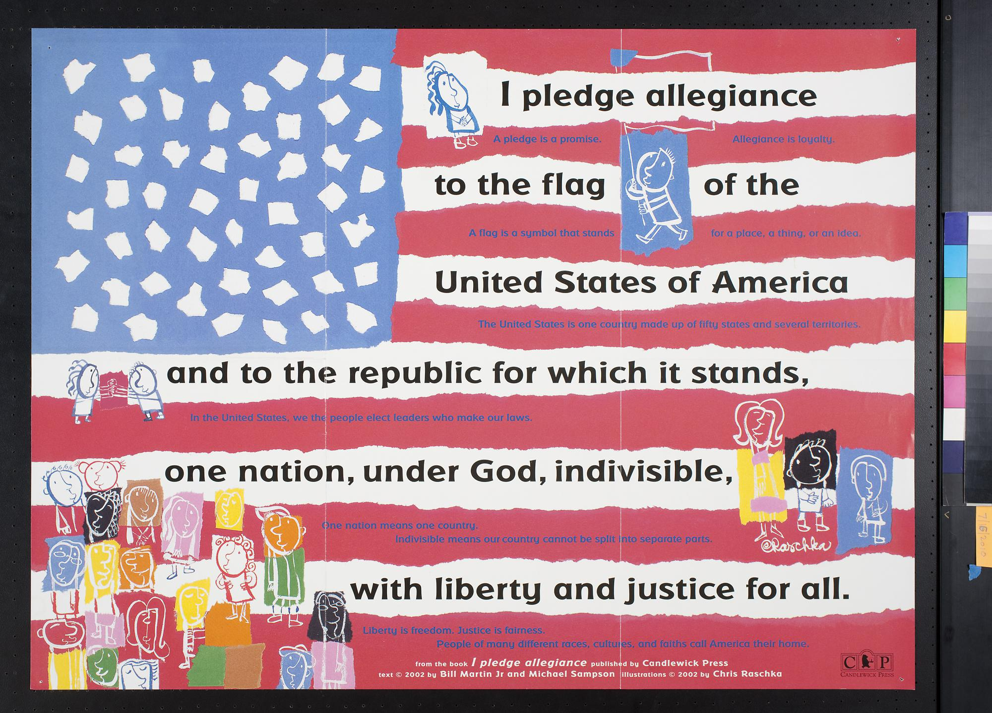 the pledge of allegiance The pledge of allegiance i pledge allegiance to the flag of the united states of america and to the republic for which it stands, one nation under god, .