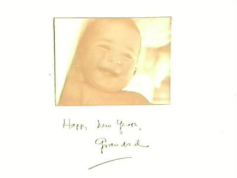 Photo Album Happy New Year, Grandad