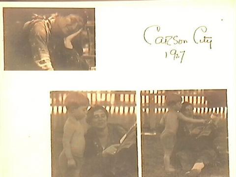 Photo Album|Carson City 1927